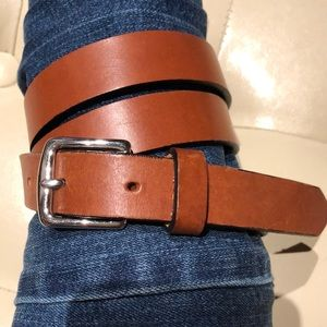 Coach genuine leather belt made in Italy, medium